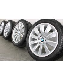 Original BMW 5er F10 / 6er F12 F13 18 Zoll Sommerradsatz 329 Turbinenstyling