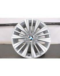 ORIGINAL BMW 7er F01 F02 / 5er GT F07 19 Zoll Alufelge 458 Vielspeiche (Silber Glanz)
