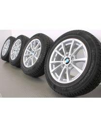 Original BMW 3er F30 F31 / 4er F32 F33 F36 16 Zoll Winterradsatz 390 V-Speiche