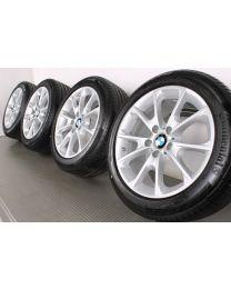 Original BMW 3er GT F34 18 Zoll Sommerradsatz 398 Y-Speiche Silber