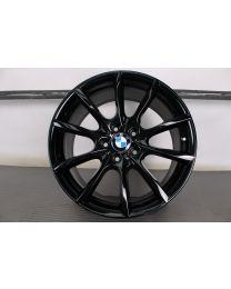 1x ORIGINAL BMW 5er F10 / 6er F06 F12 F13 19 Zoll Alufelge für die Hinterachse 281 V-Speiche