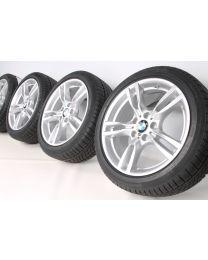 BMW Winterkompletträder 3er F30 F31 4er F32 F33 F36 18 Zoll 400 M Sternspeiche RDC