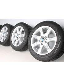 BMW Winterkompletträder 1er F20 F21 2er F22 F23 16 Zoll 377 Sternpeiche RDCi