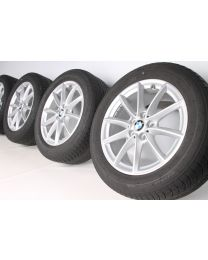 BMW Winterkompletträder X1 F48 X2 F39 V-Speiche 560 17 Zoll RDCi silber