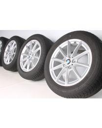 BMW Winterkompletträder X1 F48 X2 F39 17 Zoll Styling 560 V-Speiche RDC Silber