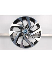 1x Original BMW i3 19 Zoll Alufelge 428 Turbinenstyling Bicolor