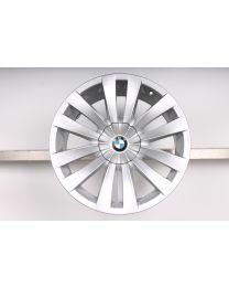 1x Original BMW 7er F01 F02 F04 / 5er GT F07 20 Zoll Alufelge Doppelspeiche 253 Silber für die Vorderachse