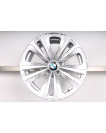 1x ORIGINAL BMW 5er F07 6er F06 F12 F13 7er F01 F02 F04 18 Zoll Alufelge Doppelspeiche 234