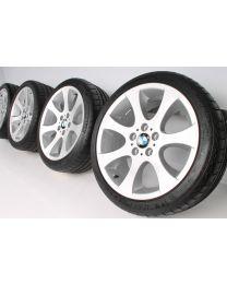 Original BMW 3er E90 E91 E92 E93 18 Zoll Sommerradsatz 162 Ellipsoidspeiche