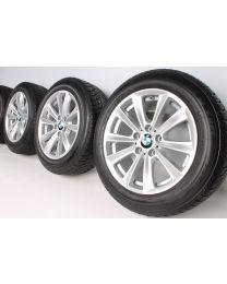 Original BMW 5er F10 F11 / 6er F06 F12 F13 17 Zoll Winterradsatz 236 V-Speiche