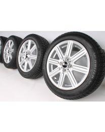 Original Mini R50 R52 R53 R55 R56 R57 R58 R59 16 Zoll Winterradsatz Rib Spoke R115 Silber