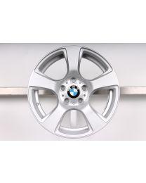 1x Original BMW 3er E90 E91 E92 E93 16 Zoll Alufelge 157 Sternspeiche Silber