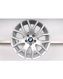 1x Original BMW X5 E70 19 Zoll Alufelge 177 Kreuzspeiche Silber