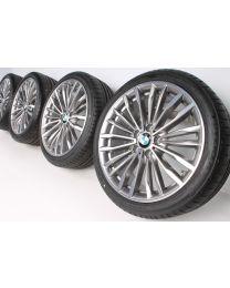 BMW Sommerkompletträder 3er F30 F31 4er F32 F33 F36 19 Zoll 708 Vielspeiche RDC bicolor