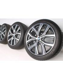 BMW Sommerkompletträder X1 F48 X2 F39 19 Zoll 511 Y-Speiche RDC bicolor