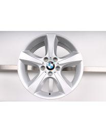 1x Original BMW X5 E70 18 Zoll Alufelge 210 Sternspeiche Silber