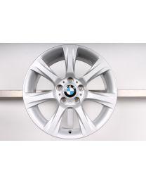 1x Original BMW 3er F30 F31 / 4er F32 F33 F36 / 3er GT F34 18 Zoll Alufelge 396 Sternspeiche Silber