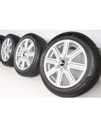 Mini Winterkompletträder R50 R52 R53 R55 R56 R57 R58 R59 16 Zoll R115 Rib Spoke RDC silber