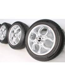 Mini Winterkompletträder R50 R52 R53 4-Hole Circular Spoke R120 16 Zoll