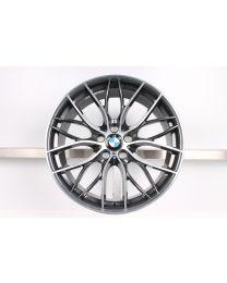 BMW Alufelge 3er F30 F31 4er F32 F33 F36 20 Zoll 405 M Doppelspeiche Bicolor