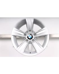1x ORIGINAL BMW 3er F30 F31 / 4er F32 F33 F36 16 Zoll Alufelge 391 Sternspeiche Silber