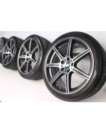 BMW Sommerkompletträder M6 F06 F12 F13 20 Zoll 601 M Doppelspeiche RDC Bicolor