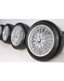 BMW Sommerkompletträder 1er F20 F21 2er F22 F23 17 Zoll 460 M Doppelspeiche RDC
