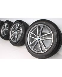 BMW Sommerkompletträder X3 G01 X4 G02 19 Zoll 698 M Doppelspeiche RDC bicolor