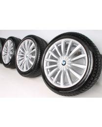 BMW Winterkompletträder 6er G32 7er G11 G12 19 Zoll 620 Vielspeiche RDC Silber