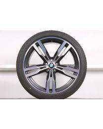 1x Original BMW 7er G11 G12 / 6er GT G32 20 Zoll Sommer Komplettrad 648 M