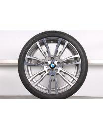 1x Original BMW 3er F30 F31 4er F32 F33 F36 19 Zoll Sommer Komplettrad 403 M 8,5J für die Hinterachse