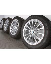 Original BMW 6er G32 7er G11 G12 18 Zoll Winterradsatz Vielspeiche 619 silber