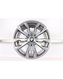 1x Original BMW X3 F25 X4 F26 20 Zoll Alufelge 680 M Doppelspeiche