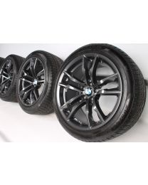 BMW Winterkompletträder 20 Zoll X5M F85 X6M F86 611 M Doppelspeiche RDCi