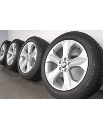 BMW Winterkompletträder X6 E71 E72 19 Zoll 232 Sternspeiche silber