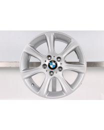 1x Original BMW 3er F30 F31 4er F32 F33 F36 17 Zoll Alufelge 394 Sternspeiche Silber