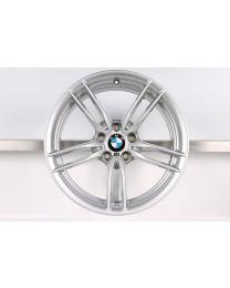 1x Original BMW M3 F80 M4 F82 F83 19 Zoll Alufelge 641M Flow-Forming Hinterachse