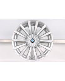 1x Original BMW 6er G32 7er G11 G12 19 Zoll Alufelge für die Hinterachse 620 Vielspeiche Silber