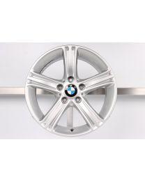 1x Original BMW 3er F30 F31 / 4er F32 F33 F36 17 Zoll Alufelge 393 Sternspeiche