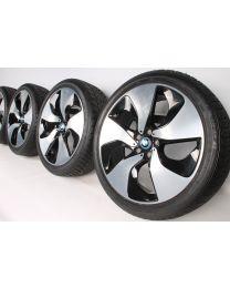 BMW Winterkompletträder i8 20 Zoll 444 Turbinenstyling RDC bicolor