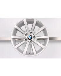 ORIGINAL BMW 5er F10 F11 18 Zoll Alufelge 365 Sternspeiche Silber