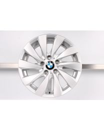 1x Original BMW 1er F20 F21 / 2er F22 F23 17 Zoll Alufelge 381 Turbinenstyling