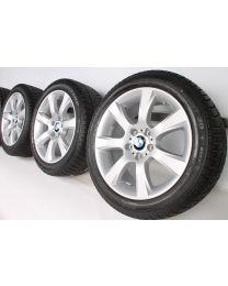BMW Winterkompletträder 5er F10 F11 6er F06 F12 F13 18 Zoll 330 Sternspeiche RDC