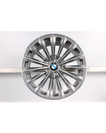 1x Original BMW 7er F01 F02 5er GT F07 19 Zoll Alufelge 252 Radialspeiche Hinterachse