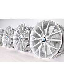 BMW 1er F20 F21 2er F22 F23 17 Zoll Alufelgen 380 Y-Speiche Silber
