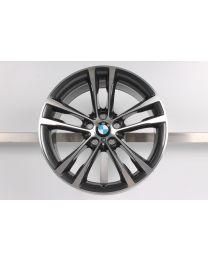 1x ORIGINAL BMW 3er GT F34 19 Zoll Alufelge 598M Doppelspeiche Hinterachse