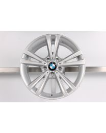 1x ORIGINAL BMW 1er F20 F21 / 2er F22 F23 18 Zoll Alufelge 385 Doppelspeiche Hinterachse