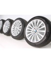 BMW Winterkompletträder 7er F01 F02 F04 5er GT F07 19 Zoll 235 Vielspeiche RDC