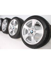 BMW Winterkompletträder 3er E90 E91 E92 E93 17 Zoll 157 Sternspeiche