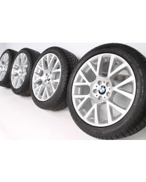 BMW Winterkompletträder 5er GT F07 7er F01 F02 19 Zoll 238 Doppelspeiche RDC